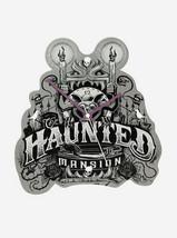 Disney The Haunted Mansion Gargoyle Metal Wall Clock New - $44.54