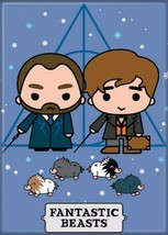 Fantastic Beasts The Crimes of Grindelwald Newt and Dumbledore Charms Magnet NEW - $3.99