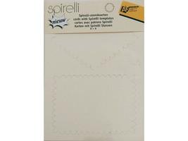 AVEC Spirelli Cardstock Templates #SP2508