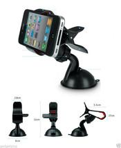 Universal 360 Rotating Car Windshield Mount Holder Stand Bracket for Cel... - £6.14 GBP