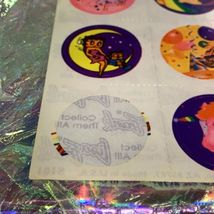 TWO Partial Lisa Frank Sticker Sheets S101 1st Sheet Only One Missing Sticker image 3