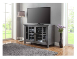 TV Stand Console Wood Buffet Cabinet Table Rustic Media Entertainment Ce... - $187.00