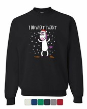 I Do What I Want Sweatshirt Christmas Xmas Rudolph Drinking Beer Sweater - $18.16+