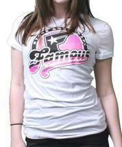 Famous Stars & Straps Womens Luscious Juniors Crewneck T-Shirt