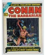 Marvel Treasury Edition 4 Conan the Barbarian Barry Windsor Smith art 1975 - $74.25