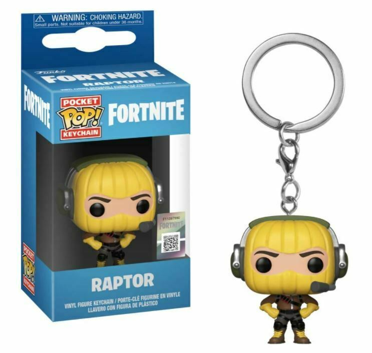 Primary image for Funko 36966  Pop! Keychain: FortniteRaptor, Multicolor, New