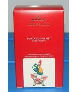Disney MOANA Pig PUA AND HEI HEI 2020 Hallmark Keepsake Christmas Ornament - $39.90