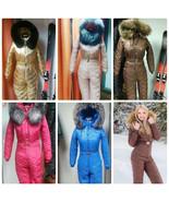 Womens Mens Ski Anzug Suit Winter Overall Nylon Waterproof Outdoor One P... - $289.00