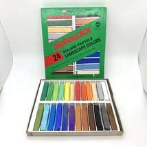 VTG Alphacolor 24 Square Pastels Landscape Colors Weber Costello Art Arc... - $24.70