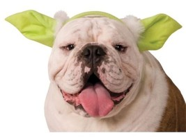 Star Wars Yoda Pet Costume Dog Headpiece - Small/Medium Rubies 888250 - $9.50