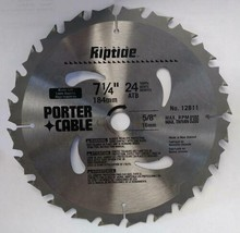 """Porter Cable 12811 7-1/4"""" x 24 Tooth ATB Riptide Saw Blade New Zealand  - $4.46"""