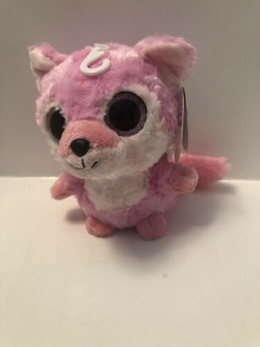 "Primary image for 5"" Aurora World Yoohoo Plush - Pink Fox Foxee Plush Stuffed Animal A19"