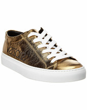 Versace Metallic Logo Platform Low-Top Sneakers 37 MSRP: $695.00 - $445.50