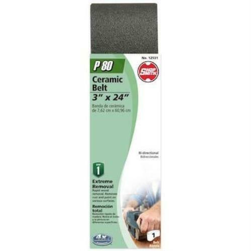 Shopsmith 3-in W x 24-in L 80-Grit Commercial Sanding Belt Sandpaper - $5.70