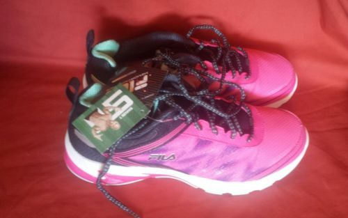 9a048a3ff3db Fila Lazerlite Energized Womens 10 Running Shoes Memory Foam Sneakers  84.99
