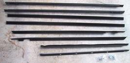 1963 MONTEREY 4 DOOR SEDAN & STATION WAGON BELTLINE WEATHERSTRIP KIT 8 PCS - $198.65