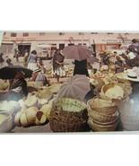 Vintage Colombia Postcard Sogamoso Boyaca Mercado 34910 - $11.87