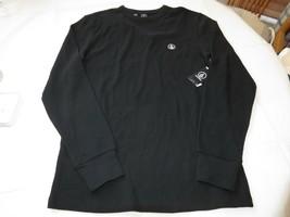 Uomo Volcom Stone Juan Largo Termico T-Shirt Manica Lunga S SMALL Nero Nuovo Nwt - $23.98