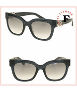 JIMMY CHOO MAGGIE Transparent Grey Rose Gold Mirrored JEWEL Sunglasses M... - $263.34