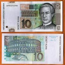 Croatia 20 Kuna p-39b 2012 UNC Banknote