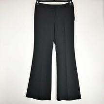 Nine West Women Pants Modern Fit Flare Pinstripe Black White Career Size... - $35.08