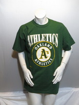 Oakland As Shirts (VTG) - 1990s Big Logo by Russell Atheltic - Mens XL (... - $55.00