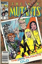 (CB-15} 1985 Marvel Comic Book: The New Mutants #32 - $3.00