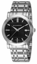 Burberry BU1365 Heritage Black Dial Swiss Made Womens Watch - $237.50