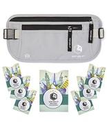 Slim Minimalist Design RFID Money Belt with RFID Blocking Sleeves, for M... - $39.04