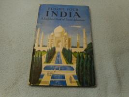 Vintage 1960  Lady Bird Book Flight Four India series 587 - $8.05