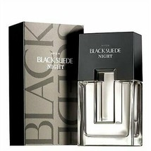 Avon Black Suede Night Eau de Toilette Spray for him 75 ml New Boxed Aft... - $18.05