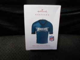 "Hallmark Keepsake ""Philadelphia Eagles Jersey"" 2018 Ornament NEW with CR... - $9.85"