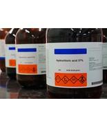 250 or 500 mL 12M Hydrochloric Acid (~32%) - $5.00