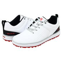 Rife Golf Shoes Mens Pro Tour Qualität Ultra Track Spikeless Relaxed Fit... - $52.08