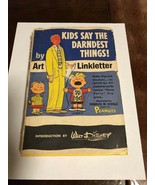 KIDS SAY THE DARNDEST THINGS! Book ART LINKLETTER 1957 Hardcover with Sl... - $10.00