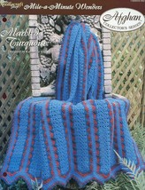 Crochet Pattern - Marbled Turquoise - The Needlecraft Shop - Mile-A-Minute Wonde - $1.50