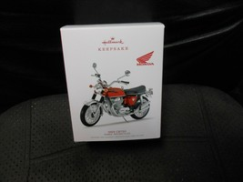 "Hallmark ""1969 CB750 - Honda Motorcycle"" 2018 Part Metal Ornament USED - $7.67"