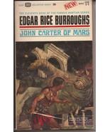 John Carter Of Mars Paperback Edgar Rice Burroughs Ballantine Books - $19.95
