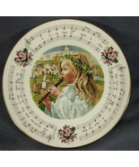 Royal Doulton Little Town Of Bethlehem 1985 Christmas Carol Collector Plate - $24.97