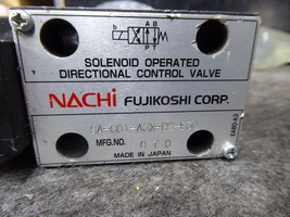 Nachi SA-G01-A3X-D2-E30 Solenoid Operated Directional Control Valve image 2