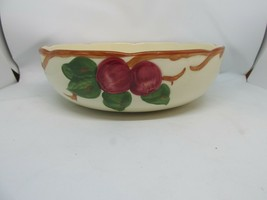 "FRANCISCAN Apple Round Vegetable Bowl 8 3/8"" x 2 5/8"" Older American Bac... - $34.95"