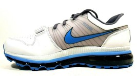 Nike Mens Shoes Air Force Max 624021 103 Running White Leather Size 9.5 New - $89.99