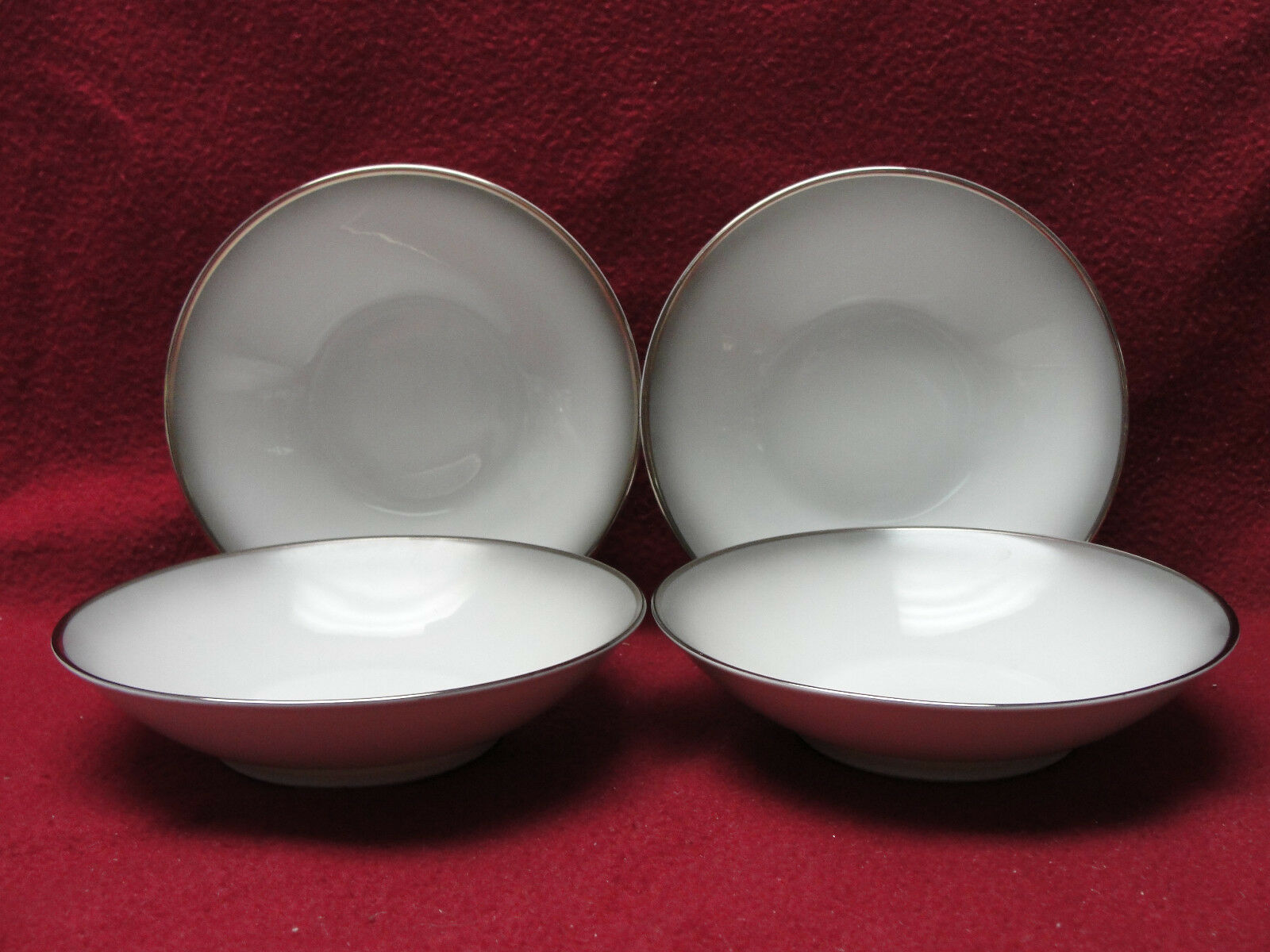 Primary image for Four (4) ROSENTHAL CHINA - ELEGANCE Pattern (Bettina ) - FRUIT / DESSERT BOWLS
