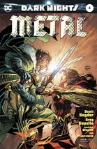 Dark Nights Metal #4 (Kubert Variant Cover) DC Comics First Print NM - $3.95