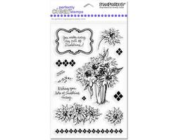 Stampendous Clear Stamp Set Sunflower Bouquet #SSC1071 - $11.99