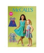 McCall Pattern Company M6915 Chidren's/Girls Dresses, Size CHJ - $5.93