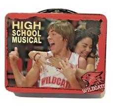 High School Musical Wildcats 3D Metal Tin Box Multicolor Latch Handle - $11.61
