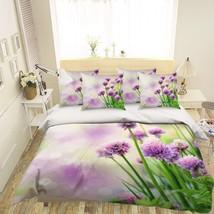 3D Purple Petals 26 Bed Pillowcases Quilt Duvet Single Queen King US Lemon - $93.49+
