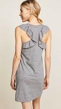 IRR Current Elliott Shirt Dress Ruffles The Cadence Scoop-Neck Heathered  *1 image 2