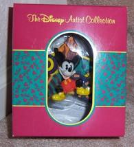 "DISNEY ARTIST COLLECTION ""MICKEY MOUSE"" PATRICK SCANLAN Christmas Tree O... - $39.50"